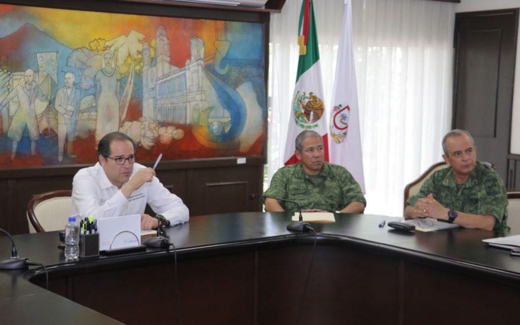 Reitera Peralta Sánchez llamado de unidad  a corporaciones de seguridad