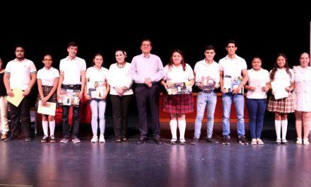 Bachillerato Uno gana Concurso de  Lectura en Voz Alta Altexto 2018