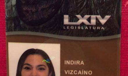 """""""No fallaré a la confianza que depositaron en mí"""", afirma Indira Vizcaíno"""