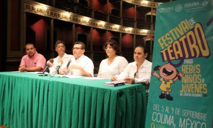 Del 5 al 9 de septiembre  se realizará Festival de Teatro  para bebes, niños y jóvenes