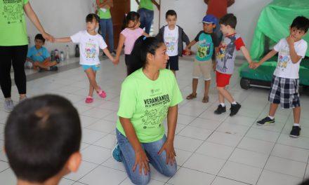 Realizan actividades artísticas en Curso Veraneando 2018