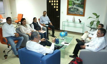 Reunión de colaboración con representantes de la empresa Ternium