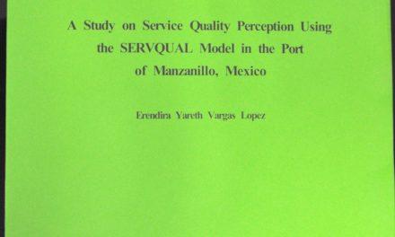Analiza profesora de la U de C logística  portuaria de Manzanillo, en Corea