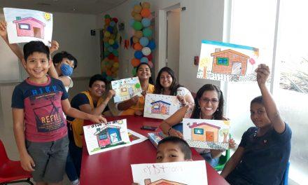 Colaboran estudiantes en clausura de  curso de verano, en Oncopediatría