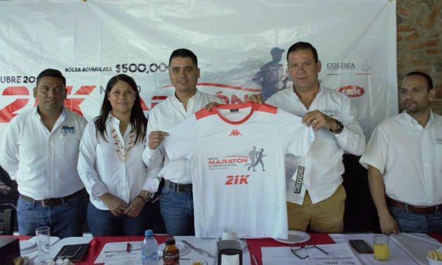 Este 7 de octubre será el Medio Maratón  Internacional 21K, Colima en Movimiento