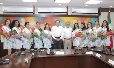 Impone JIPS banda a candidatas  a Reina de la Feria Colima 2018