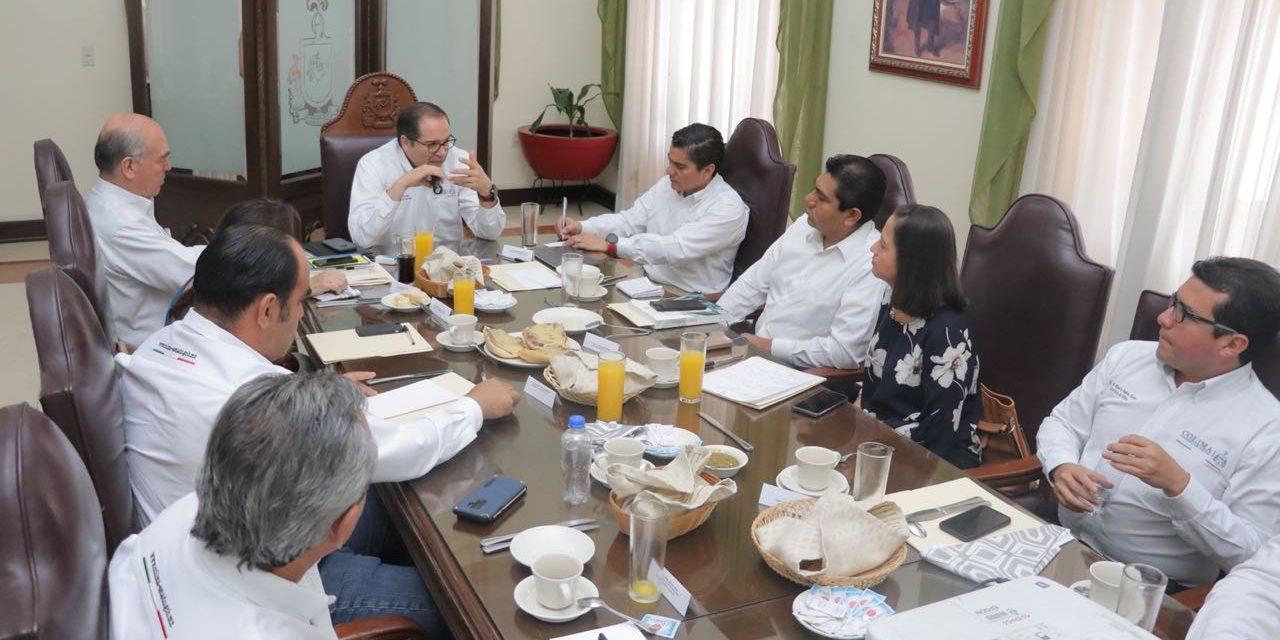 Gobernador y legisladores federales electos  acuerdan hacer equipo por Colima; Presenta Ejecutivo obras proyectadas para el PEF 2019