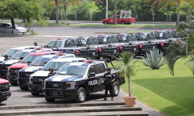 Detiene SSP a cuatro sujetos con armas; además, capturan cinco sujetos en posesión de droga