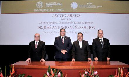 Por encima de la ley está  la ética: J. Antonio Núñez