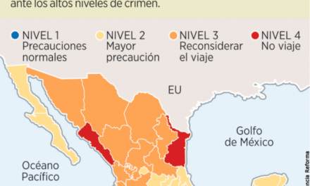 Recomienda Departamento de Estado de  EU, a sus ciudadanos no viajar a Colima