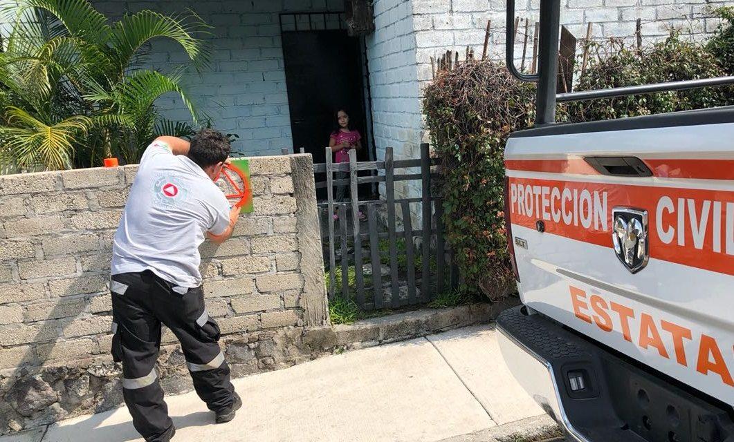 Remarca Protección Civil viviendas de personas con  discapacidad motriz en La Becerrera
