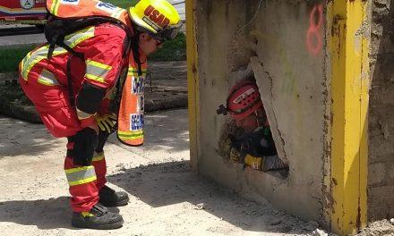 Concluye Protección Civil capacitación en búsqueda y rescate en estructuras colapsadas