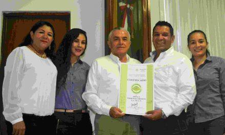 "ENTREGA PROFEPA CERTIFICADO DE CALIDAD AMBIENTAL A ""IMPALA TERMINALS MÉXICO, S.A. DE C.V"", EN COLIMA"