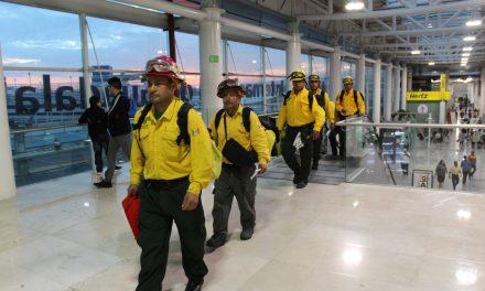 Envía México a 62 combatientes más para atender incendios en Canadá