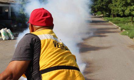 Previo al cierre del segundo ciclo, casi 13 mil hectáreas nebulizadas contra el dengue