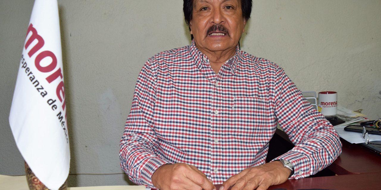 Se desmarca MORENA el alcalde de Armería; él es del PT, dice Jiménez Bojado