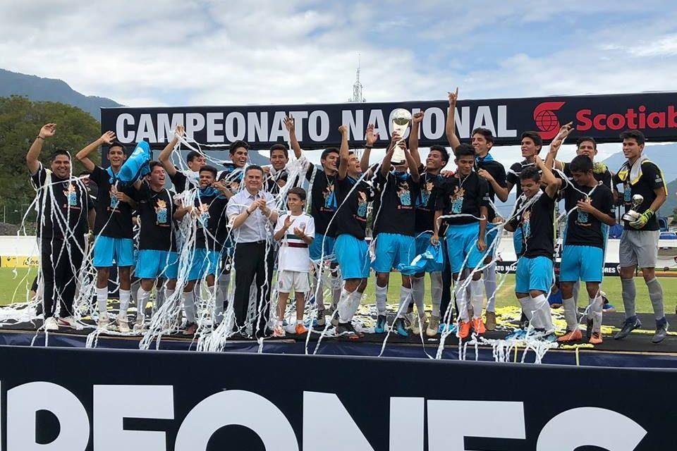 La Selección Colima Sub 17 se proclama Campeón Nacional Scotiabank