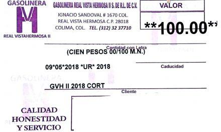 RECONOCE EL PRI QUE PAGÓ CON VALES DE GASOLINA A TRABAJADORES