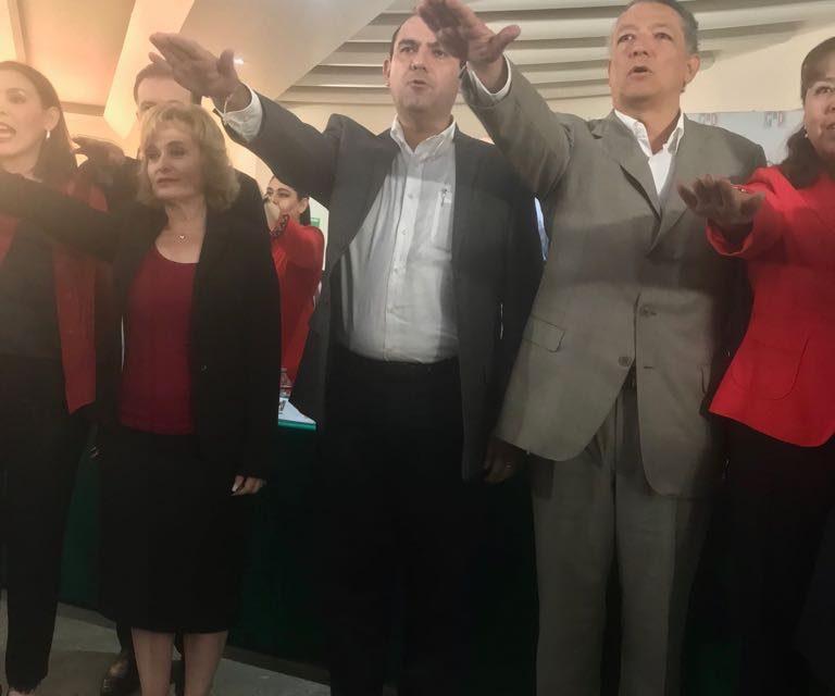 Rogelio Rueda Sánchez rindió protesta como vicepresidente de la Comisión Nacional de Legisladores Locales del PRI