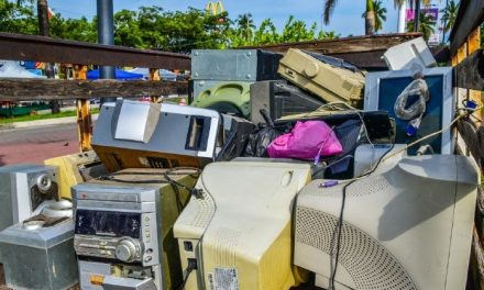 ElectroAcopio capitalino reunió 3 toneladas de electrónicos en desuso