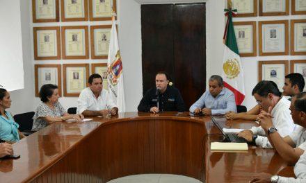Integran Comisión Municipal de Entrega-Recepción 2018 en la capital