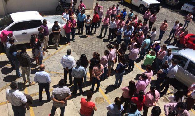 GOBIERNO MUNICIPAL DE RAFAEL MENDOZA PARTICIPA EN MEGA SIMULACRO