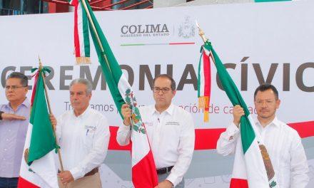 En Colima, Gobernador reconoce apoyo del  Sistema Nacional de Seguridad Pública