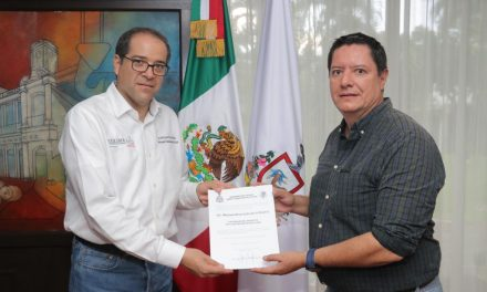Nombra Gobernador a Manuel Ahumada  como Encargado de Despacho de la SEMOV