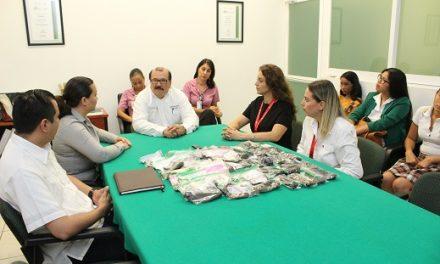 Alumnas del Isenco se suman  al proyecto de pelucas oncológicas