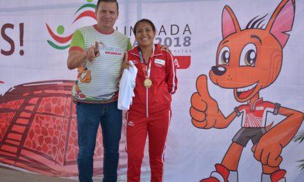 En la recta final de la Paralimpiada 2018,  obtiene Colima cinco medallas  de oro, plata y bronce