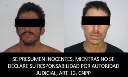 Detiene Seguridad Pública a tres sujetos con armas y droga