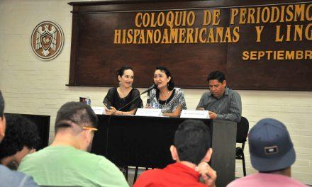 Inauguran el Coloquio de Periodismo, Letras Hispanoamericanas y Lingüística, en la Universidad de Colima