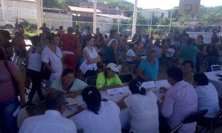 Participa el Insuvi en Ferias de Servicios y Apoyos de la Sedesol, realizadas en siete municipios del estado