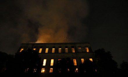 Brasil llora la destrucción del Museo Nacional en Río de Janeiro