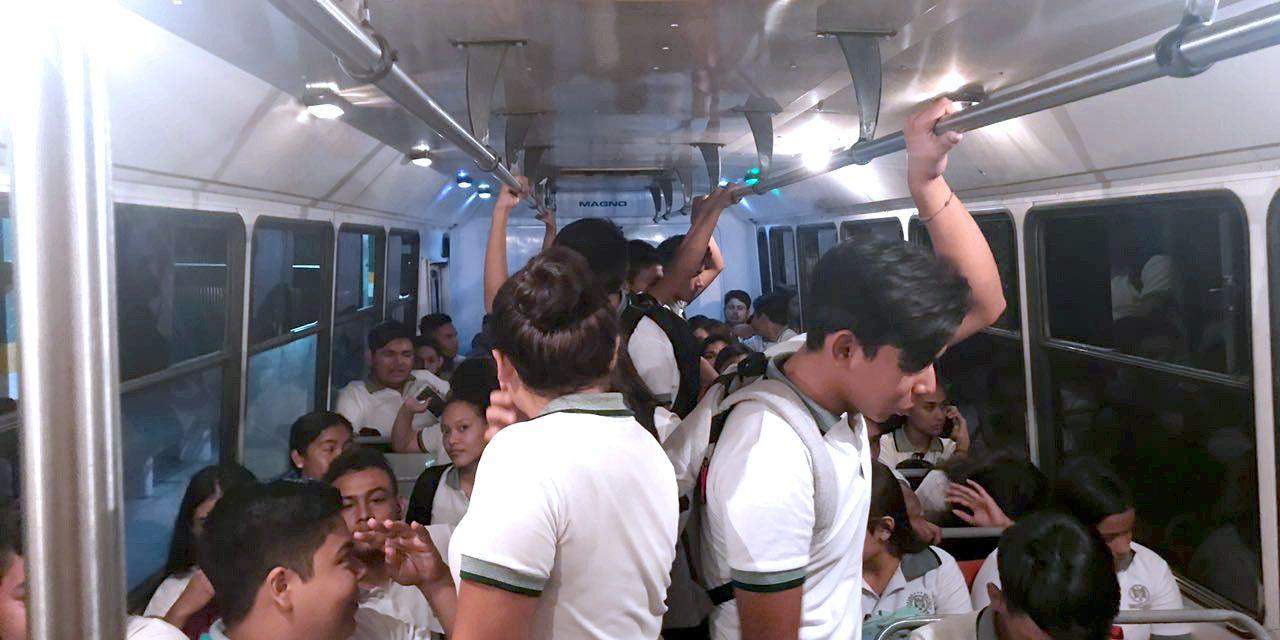 Gestiona U de C transporte público para  estudiantes que salen tarde de clases