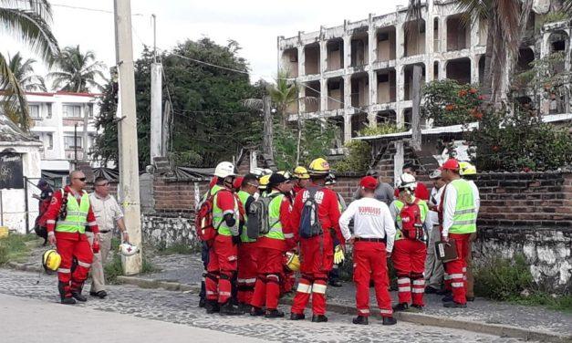 Protección Civil participa en ejercicio nacional de grupos de búsqueda y rescate urbano