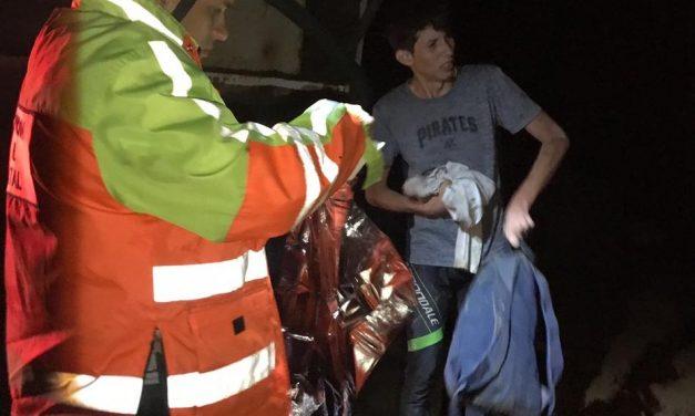Rescata Protección Civil Estatal a joven ciclista  en zona boscosa de El Terrero