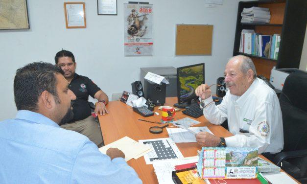 AGRADECE RAFAEL MENDOZA Y PC MUNICIPAL, APOYO DE PC ESTATAL