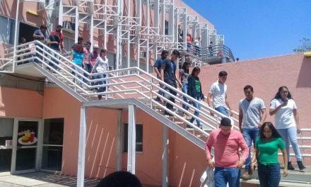 Se sumó U de C a simulacro nacional  por sismos del 19 de septiembre