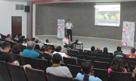Realiza Protección Civil Estatal conferencia sobre  Fenómenos Hidrometeorológicos