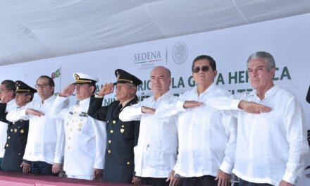 Asiste rector a ceremonia estatal por el 171  aniversario de gesta heroica de Niños Héroes