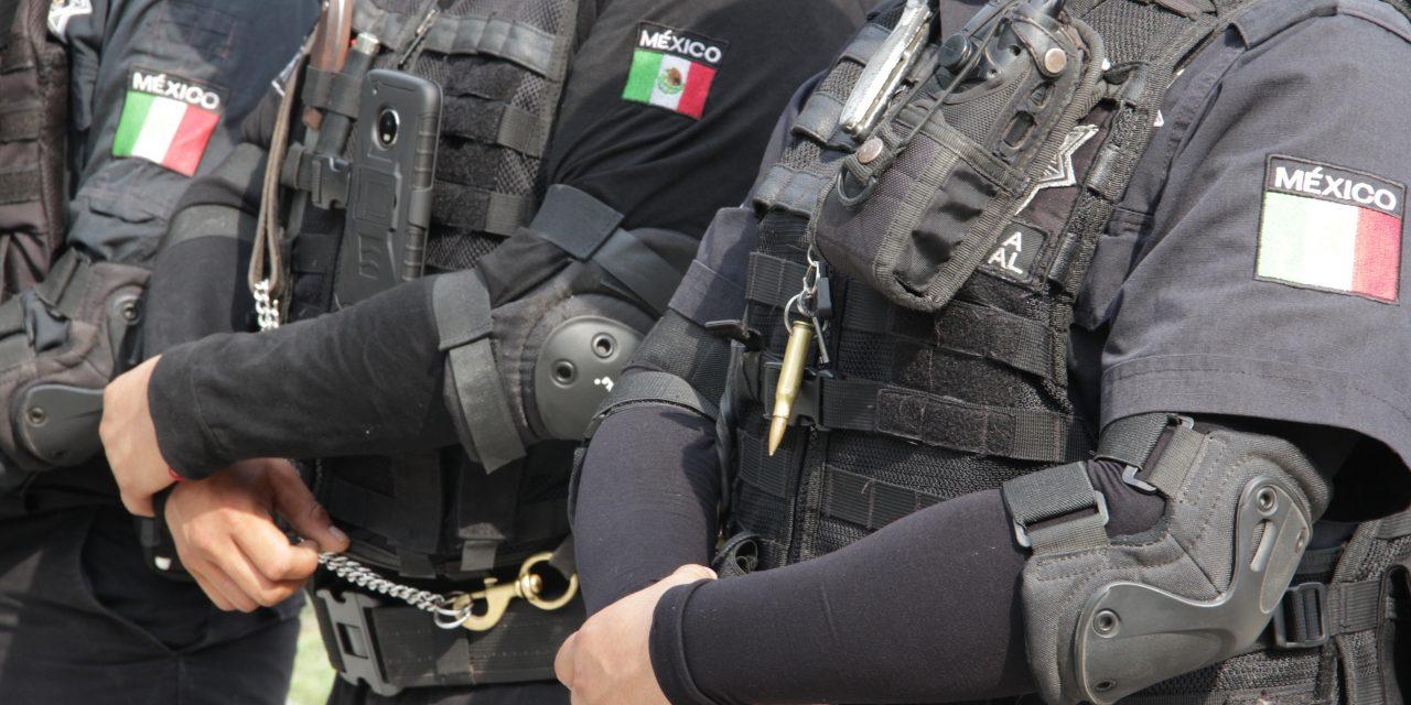 Detienen a cinco sujetos con armas de fuego, en Colima y Tecomán
