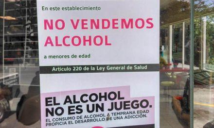 Orientan a 10 mil personas en prevención  de consumo de alcohol en menores