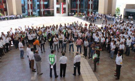Participan más de 300 mil colimenses en el Macrosimulacro Nacional: PC Estatal