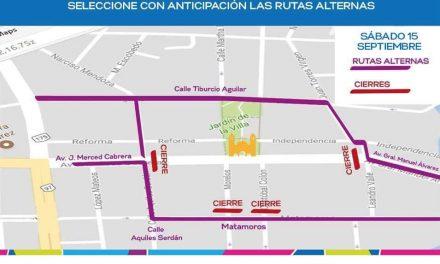 Cerrarán a la circulación la zona centro de Villa de Álvarez, este sábado