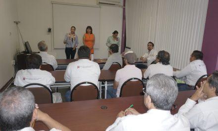 Visita Claudia Yáñez Centeno al Órgano Superior de Auditoria y Fiscalización