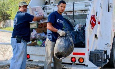 A partir del lunes se dará priordad a hogares y escuelas en recolección de la basura