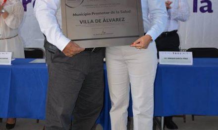 """Ayuntamiento de La Villa es reconocido como """"Municipio Saludable"""", por la Secretaría de Salud"""