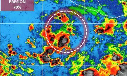 Informa el Servicio Meteorológico sobre ciclón que se ubica en el Océano Pacífico