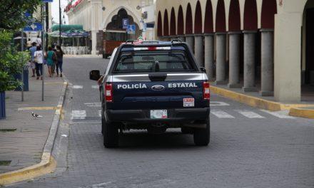 Cuatro sujetos con droga fueron  detenidos por elementos de la SSP